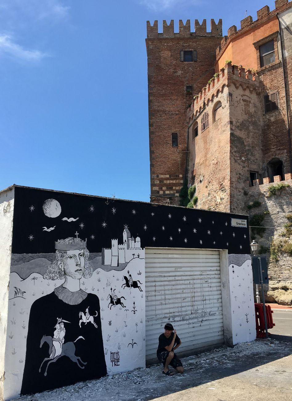 Mehstre, Desiderio Re dei Longobardi, Montalto di Castro, 2019. Photo Matteo Bidini