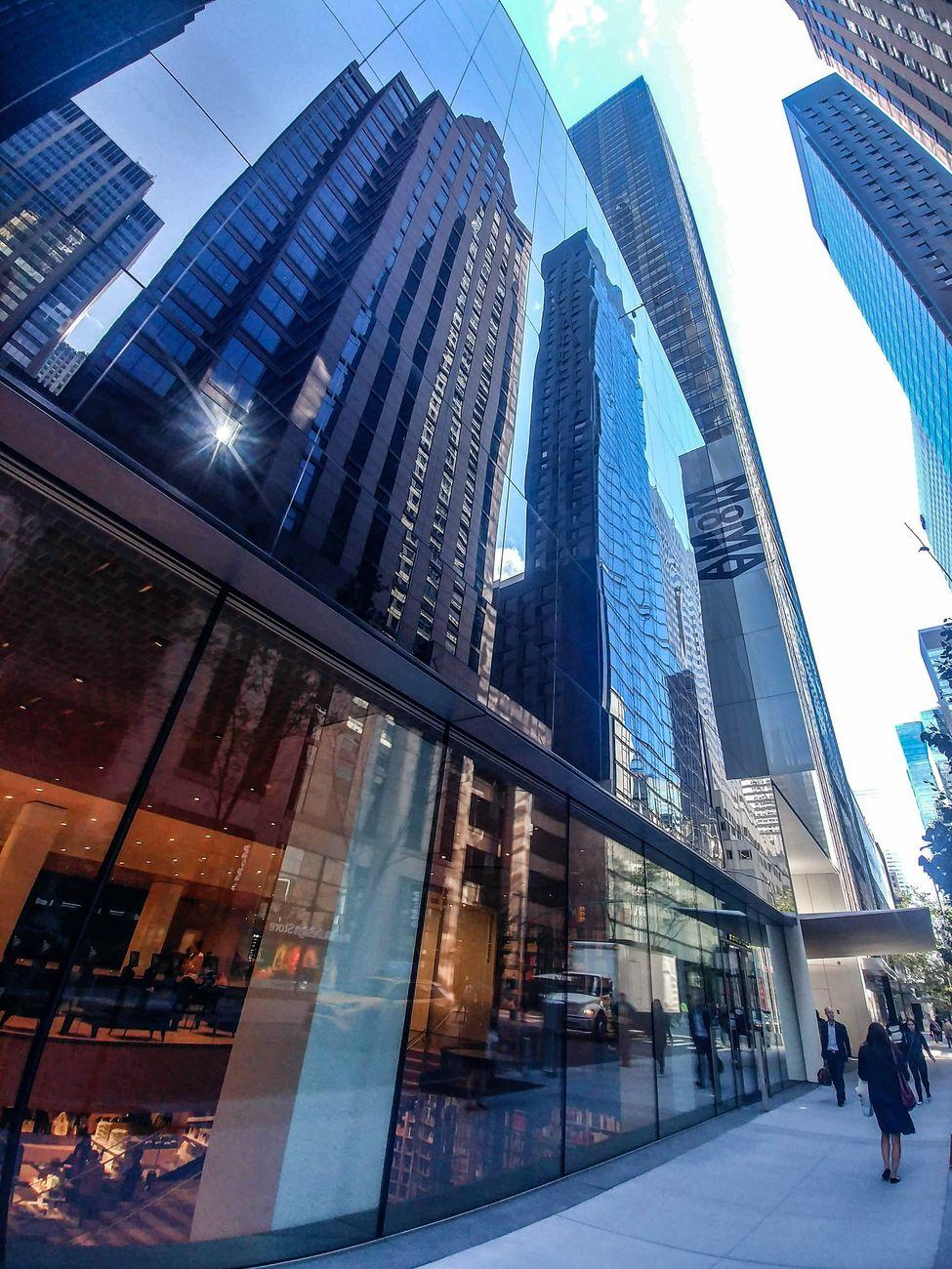 MoMA, New York. L'esterno dell'edificio sulla 53rd Street. Photo Maurita Cardone