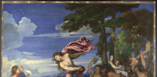 Titian, Bacchus and Ariadne, 1520-3 (c) National Gallery, London