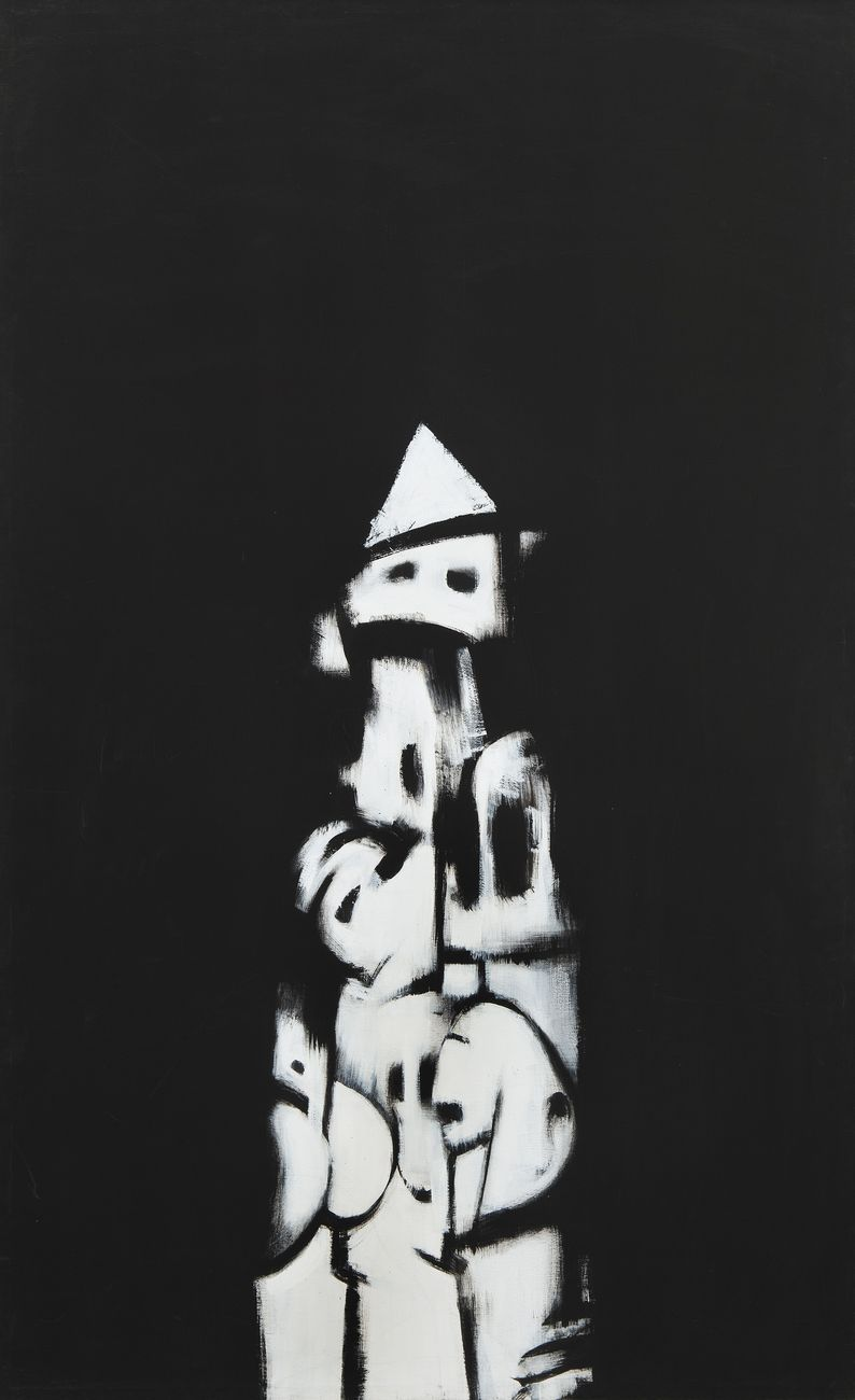 Norman Lewis, American Totem, 1960. Whitney Museum of American Art, New York © Norman Lewis. Courtesy Michael Rosenfeld Gallery LLC, New York, NY