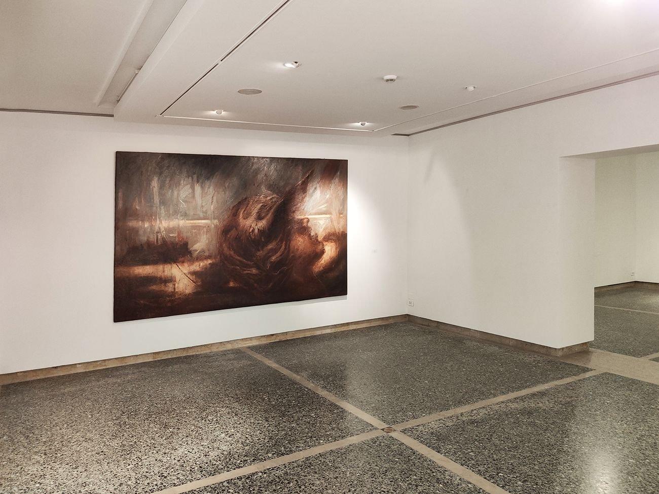 Omar Galliani. Dipinta. Exhibition view at Fondazione Bevilacqua La Masa, Venezia 2019