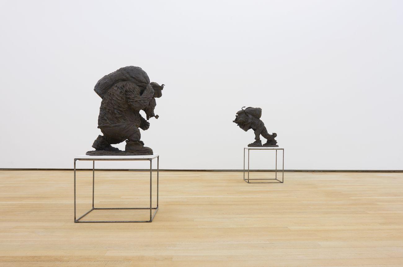 Peter Wächtler. Up the Heavies. Installation view at Fondazione Antonio Dalle Nogare, Bolzano 2019. Photo Jürgen Eheim. Courtesy Fondazione Antonio Dalle Nogare