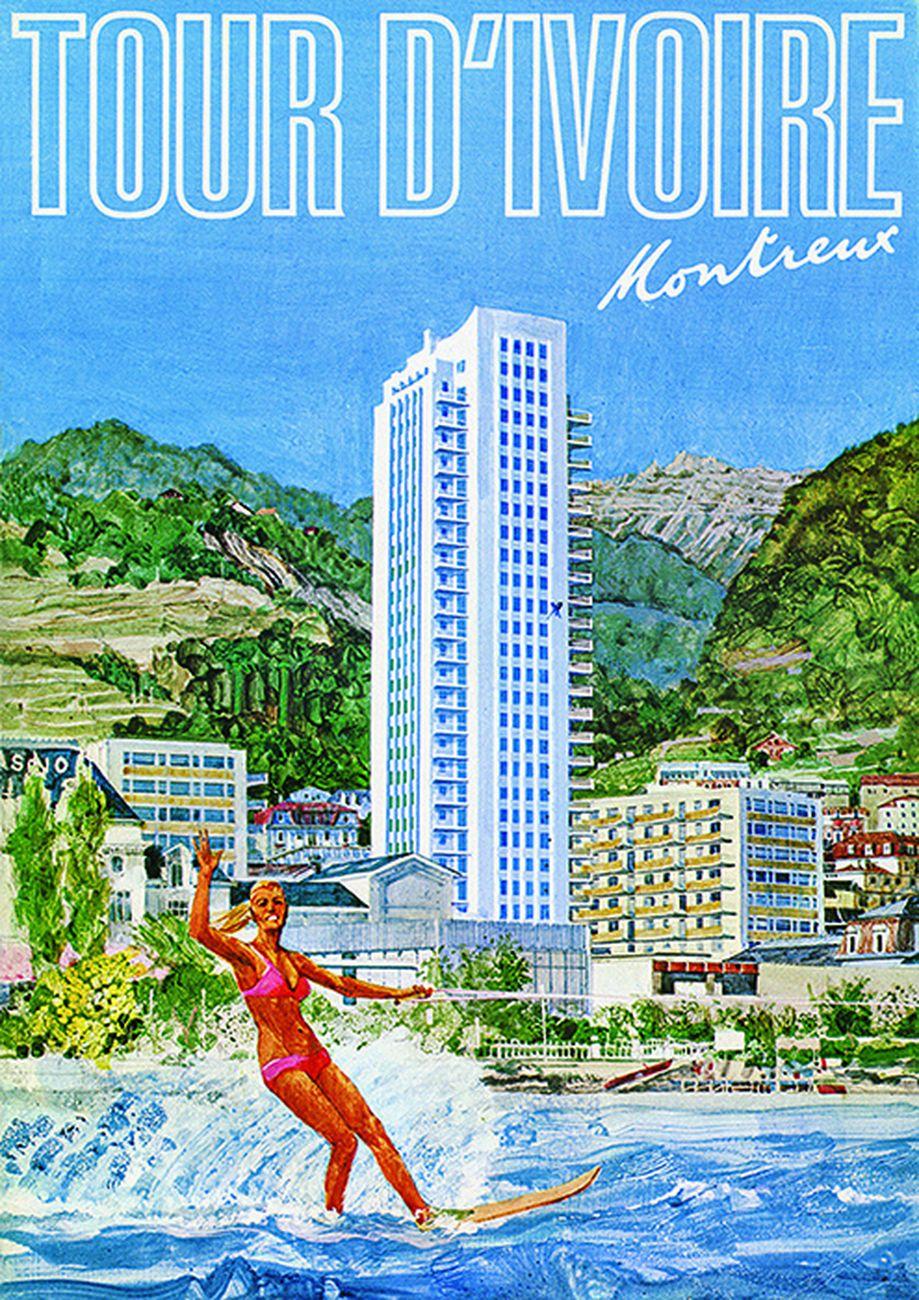 Poster della Torre d'Avorio di Montreux ® CME 1967-2019