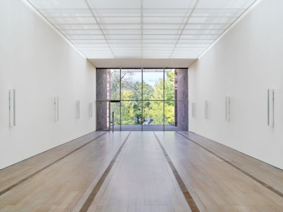 Resonating Spaces, installation view at Fondation Beyeler, Riehen Basel 2019. Photo Stefan Altenburger