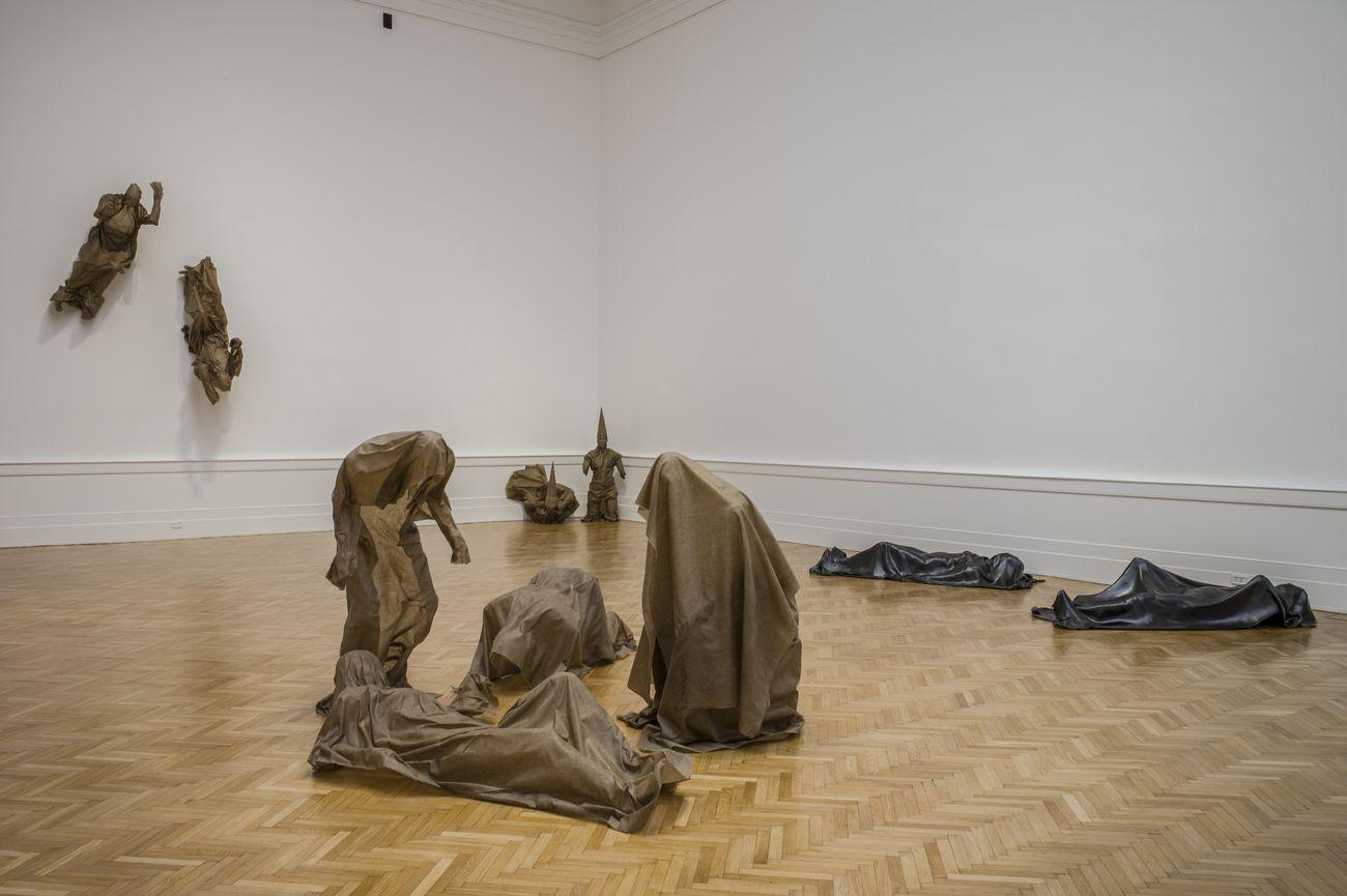 Robert Morris. Installation view at La Galleria Nazionale, Roma 2019. Photo Anton Giulio Onofri © Galleria Nazionale d'Arte Moderna e Contemporanea