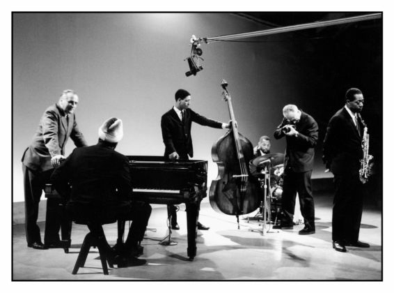 Arrigo Polillo with Thelonious Monk Quartet