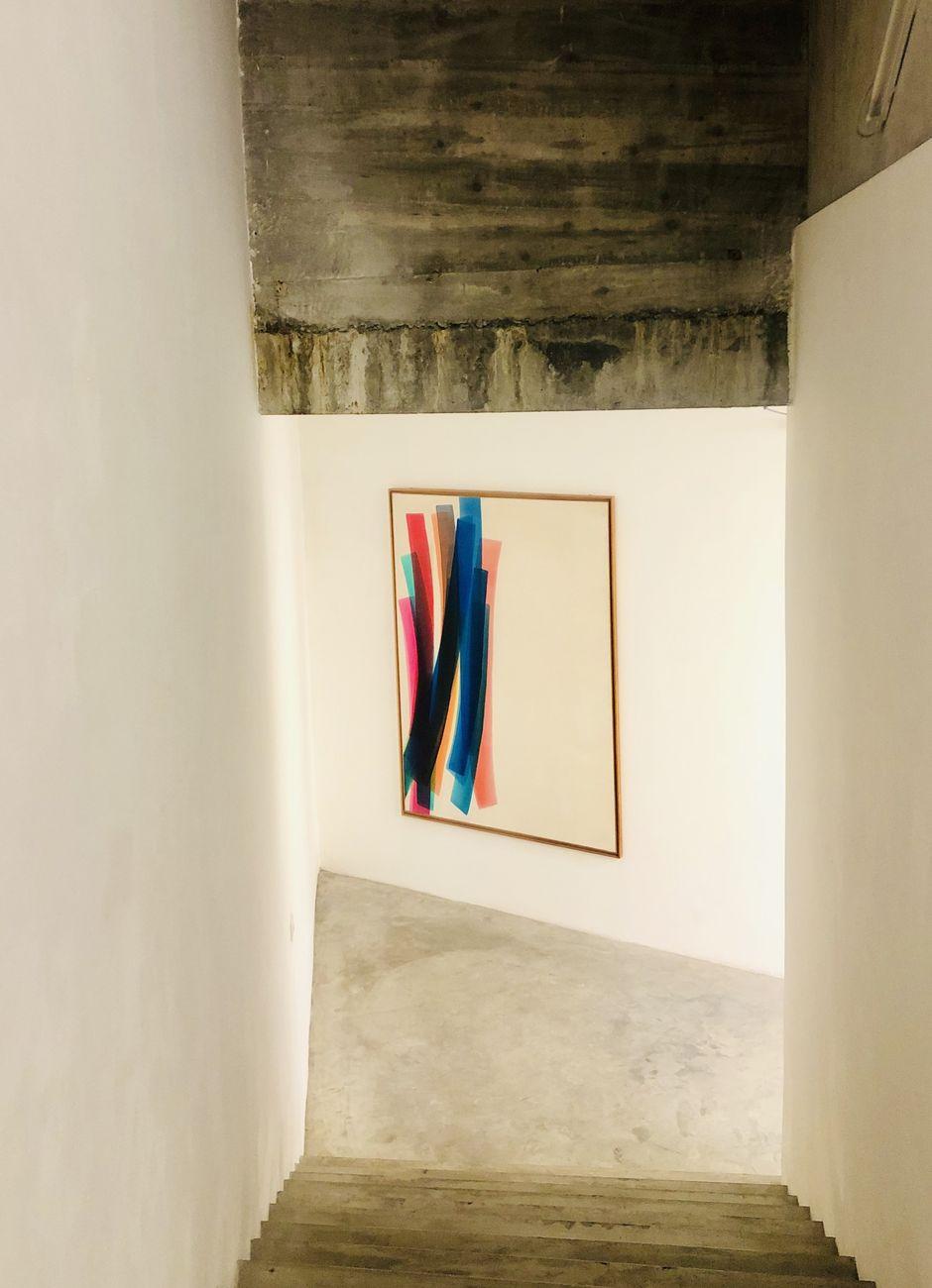 Rosanna Rossi, Senza titolo (Bande Colorate), 1973