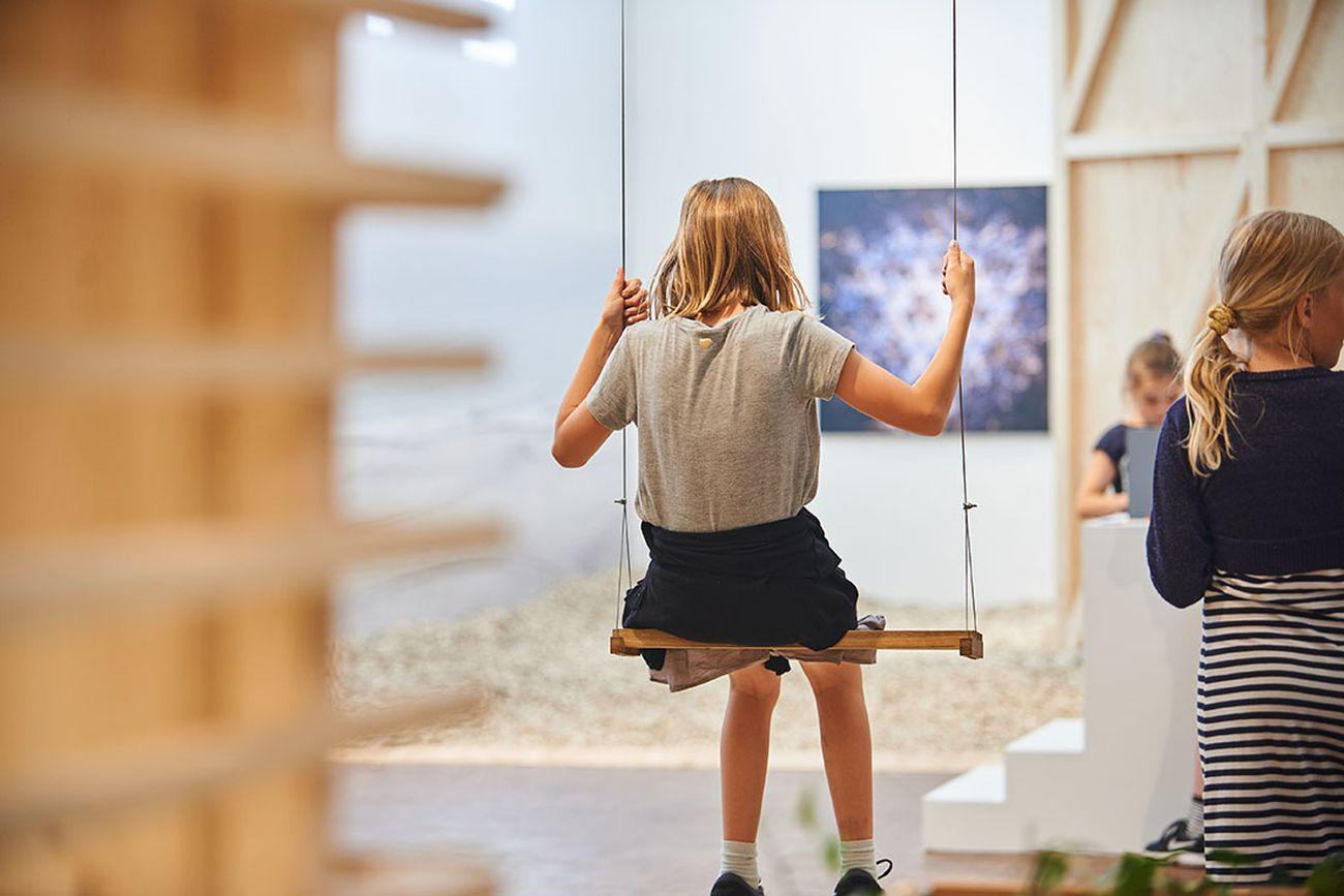 Rumtosset ‒ Space Crazy, installation view at Utzon Center, Aalborg 2019. Courtesy Utzon Center