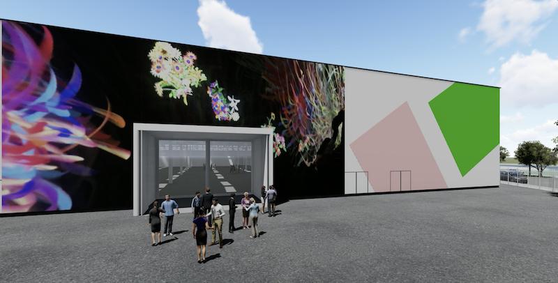 Superstudio Maxi, rendering