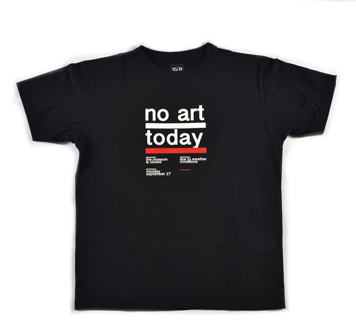 Sep t shirt uomo no art nera