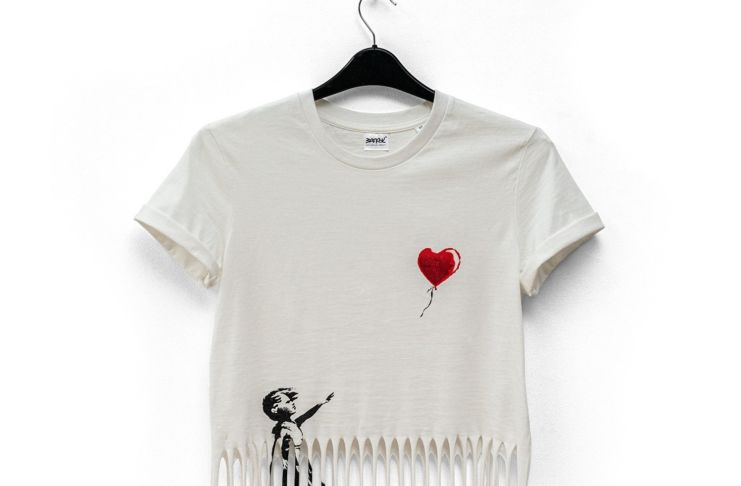 Banksy™ Shredded Tee