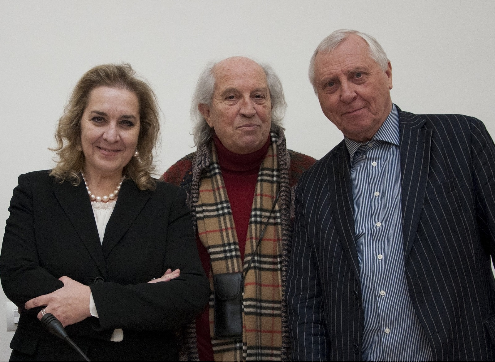 Tiziana D'Acchille con Vittorio Storaro e Peter Greenaway
