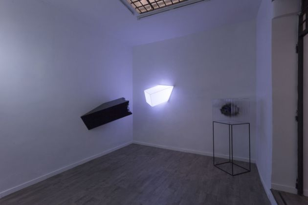 Strings. Mareo Rodriguez - Isabel Alonso Vega. Installation view at White Noise, Roma 2019
