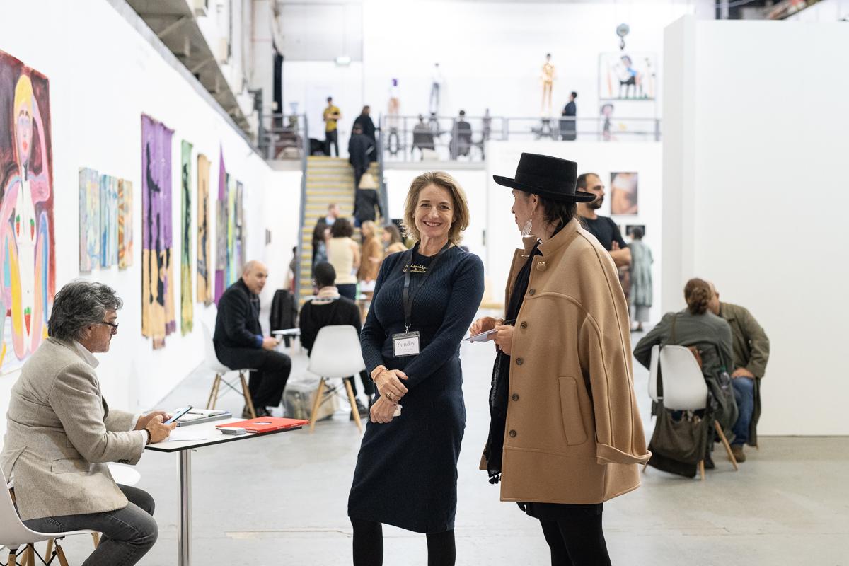Sunday Art Fair 2017, Ambika P3, University of Westminster, London. Photo by Damian Griffiths. Courtesy of Sunday Art Fair