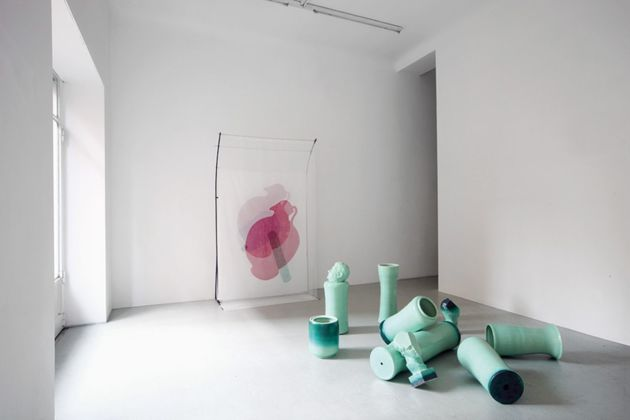 T-Yong Chung. The Subject as Space. Installation view at Renata Fabbri arte contemporanea, Milano 2019