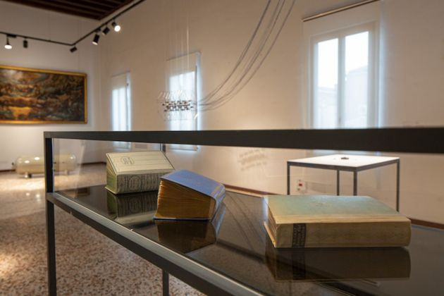 The Only Stable Thing. Exhibition view at Scala del Bovolo, Venezia. Photo Silvia Longhi
