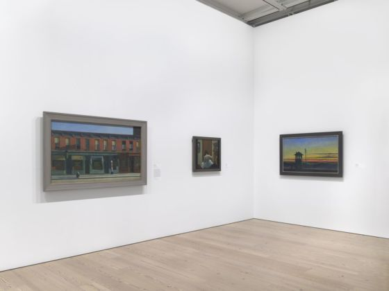 The Whitney's Collection. Selections from 1900 to 1965. Edward Hopper. Installation view at Whitney Museum of American Art, New York 2019. Photo Ron Amstutz