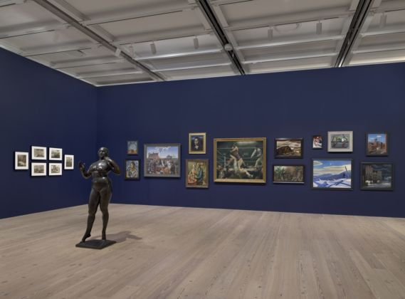 The Whitney's Collection. Selections from 1900 to 1965. Installation view at Whitney Museum of American Art, New York 2019. Photo Ron Amstutz