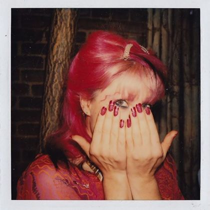 Zandra Rhodes with Pink Hair Pink Nails. Archived by 'Zandra With A Zee' Documentary about Zandra