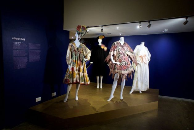 Zandra Rhodes. 50 Years of Fabulous. Photo Bridie O'Sullivan © Fashion and Textile Museum
