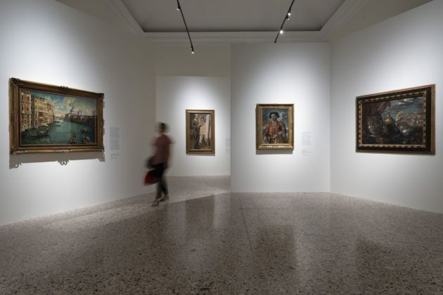 de Chirico, exhibition view at Palazzo Reale, Milano 2019, photo Lorenzo Palmieri