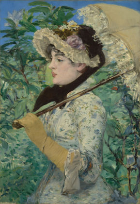 Édouard Manet Jeanne (Spring), 1881 Oil on canvas Unframed: 74 × 51.5 cm (29 1/8 × 20 1/4 in.) The J. Paul Getty Museum, Los Angeles 2014.62