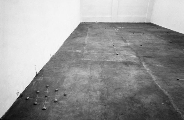 """Mel Bochner. Rules of Inference"", Galleria Toselli, Milano, 1972. Photo © Paolo Mussat Sartor, Torino"