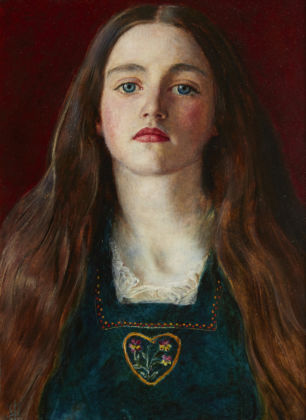 Sophy Gray by John Everett Millais, 1856. Private Collection