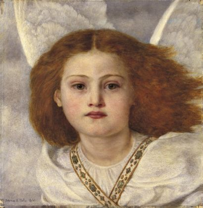 Thou Bird of God by Joanna Boyce Wells, 1861, Private Collection;