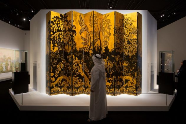 10,000 Years of Luxury. Installation view at Louvre Abu Dhabi, 2019 © Department of Culture and Tourism – Abu Dhabi. Photo Ismail Noor - Seeing Things