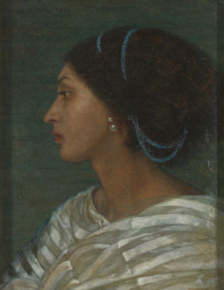 Study of Fanny Eaton by Joanna Wells, 1861. Yale Center for British Art, Paul Mellon Fund;