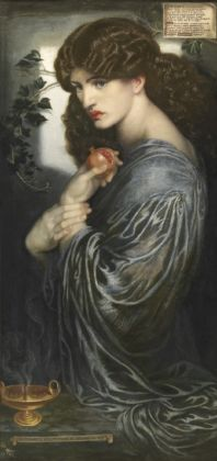 Jane Morris is the model for Proserpine by Dante Gabriel Rossetti, 1877. Private Collection;