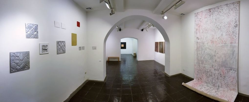 Baldo Diodato. Tappeto sonoro. Exhibition view at Galleria Paola Verrengia, Salerno 2019
