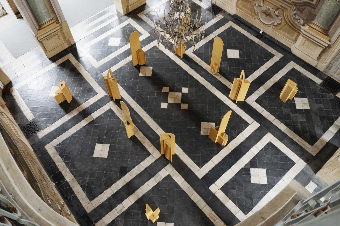 Caterina Morigi. Sincerità della materia. Exhibition view at Villa della Regina , Torino 2019. Per gentile concessione di MIBACT PM PIE 2019. Photo © Mangosio
