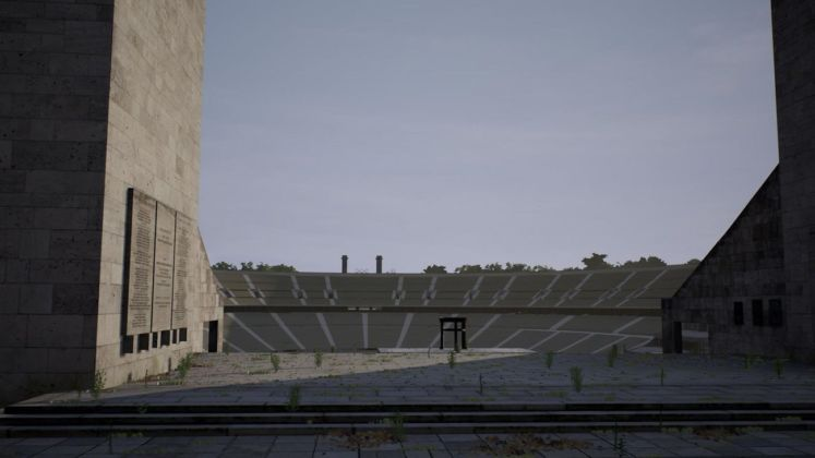 David Claerbout, Olympia (The real time disintegration into ruins of the Berlin Olympic stadium over the course of a thousand years), 2018.11.01 – 08.59 h Ó David Claerbout by SIAE 2019