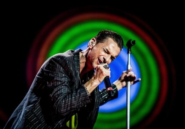 Depeche Mode (Dave Gahan) @ Stadio San Siro, Milano 18 luglio 2013 ©Sergione Infuso