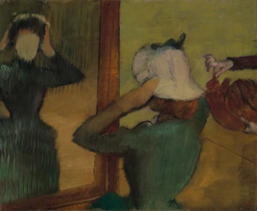 Edgar Degas, Dalla modista, 1882 85 ca. Collection of Mr. and Mrs. Paul Mellon