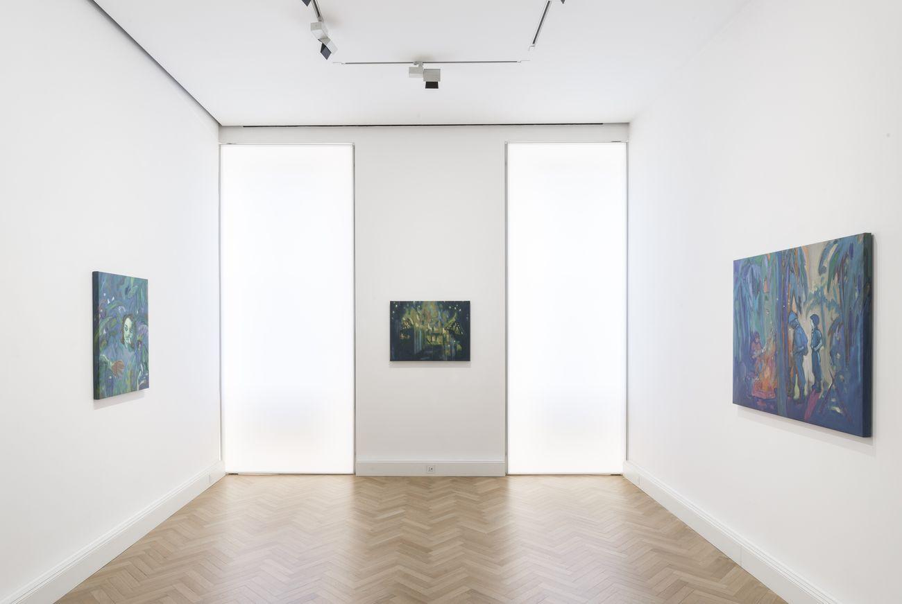 Elena Ricci. Who by Fire. Installation view at Viasaterna, Milano