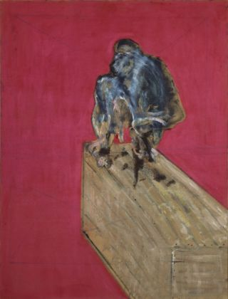 Francis Bacon, Study for Chimpanzee, marzo 1957. Collezione Peggy Guggenheim, Venezia © The Estate of Francis Bacon. All rights reserved, by SIAE 2019