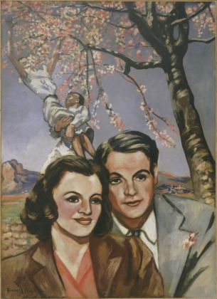 Francis Picabia, Portrait of a Couple, Golfe Juan e o Tourettes sur Loup, 1942 43. MoMA, New York © 2019 Artists Rights Society (ARS), New York _ ADAGP, Paris