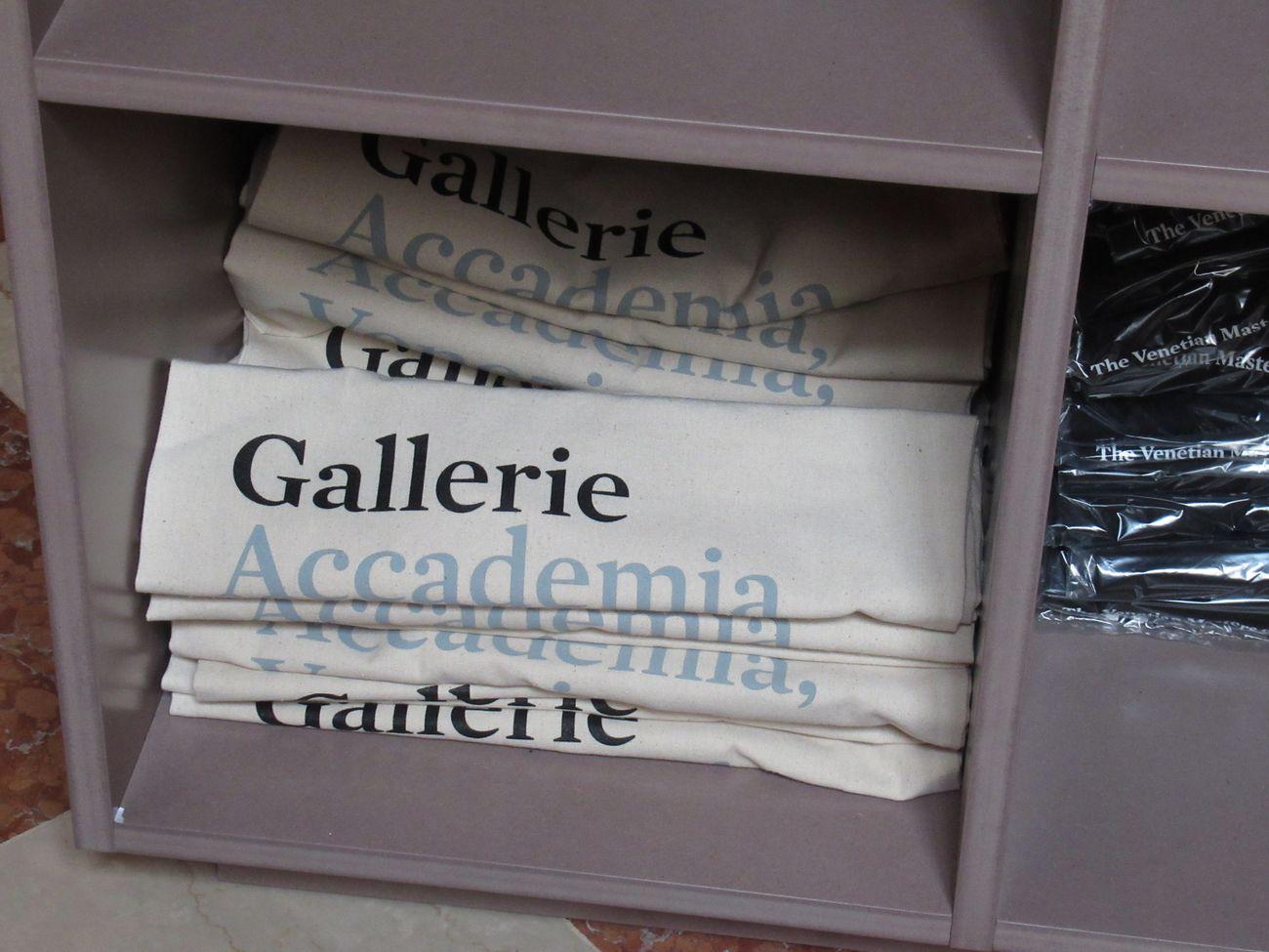 Gallerie dell'Accademia di Venezia, merchandising
