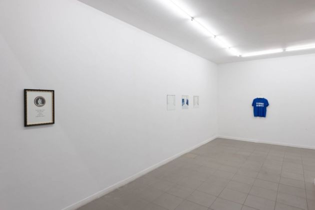Gea Casolaro. Molto visibile, troppo invisibile. Exhibition view at The Gallery Apart, Roma 2019