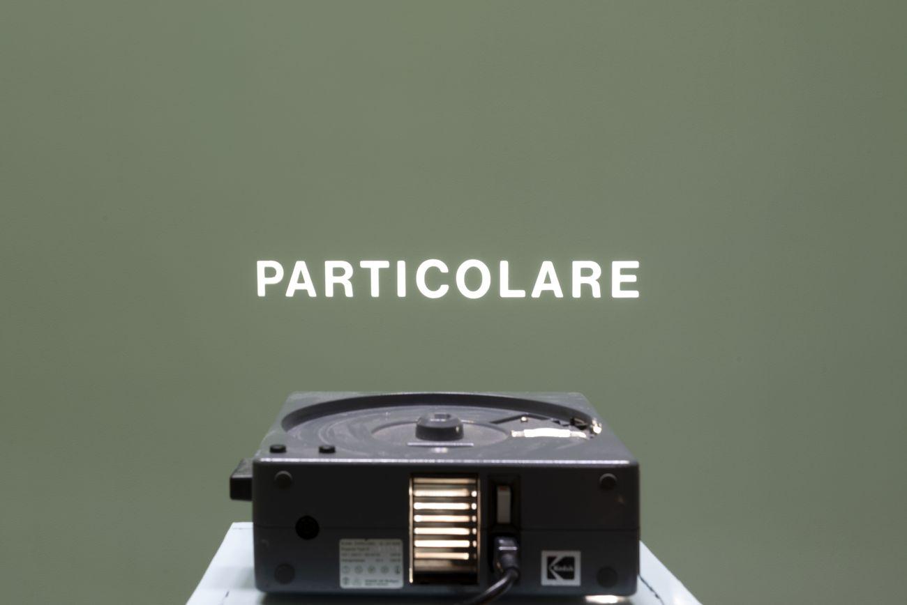 Giovanni Anselmo. Entrare nell'opera. Exhibition view at Accademia Nazionale di San Luca Palazzo Carpegna, Roma 2019. Photo Andrea Veneri