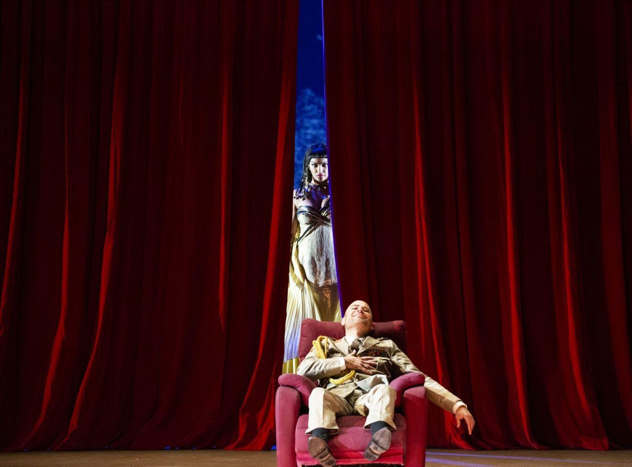 Giulio Cesare in Egitto. Photo credit Brescia Amisano Teatro alla Scala, Milano