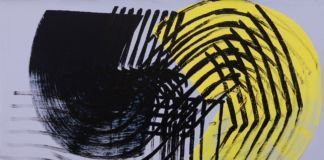 Hans Hartung, T1975 H46, 1975. Courtesy Mazzoleni, London Torino
