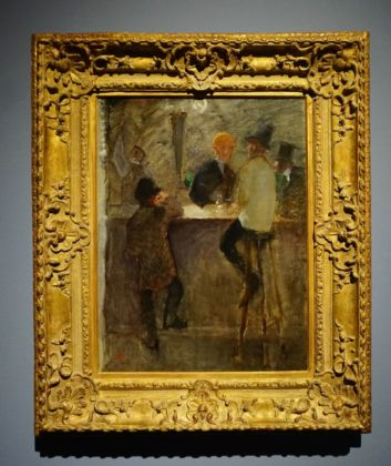 Henri de Toulouse-Lautrec, Al bar, 1886 ca. Collection of Mr. and Mrs. Paul Mellon. Photo Serena Tacchini