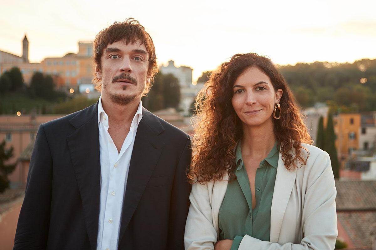 I co-fondatori di pArt Lelio Orsini e Maddalena Salerno, foto di Vittorio Bonaffini