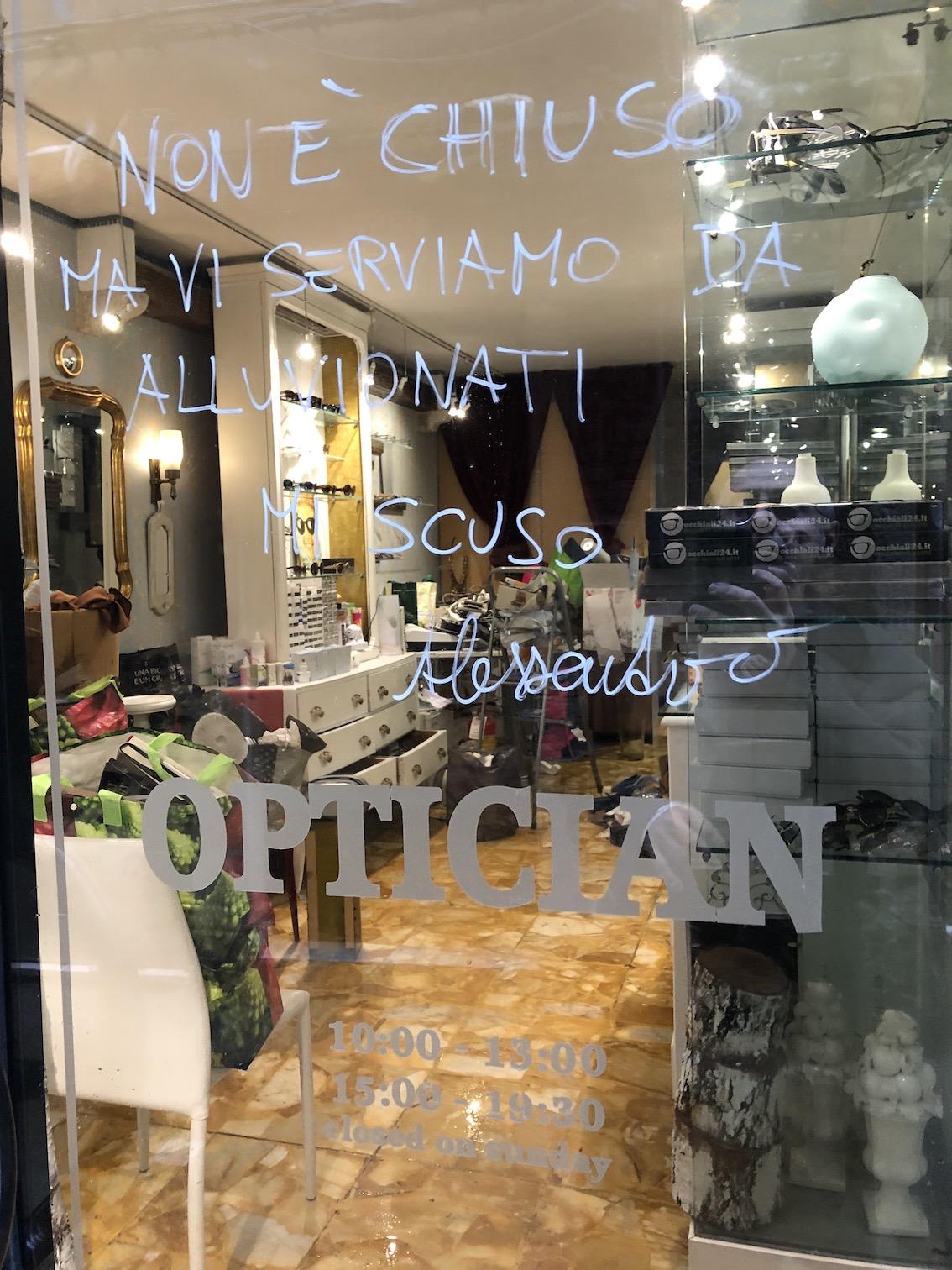 Acqua alta a Venezia - novembre 2019