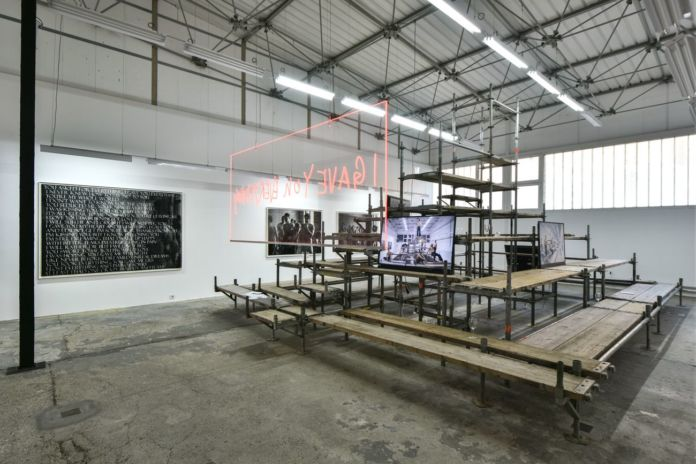 Ivana Ivković, Babylon the Great, 2017, installation view at Eugster __ Belgrade, Belgrado 2017