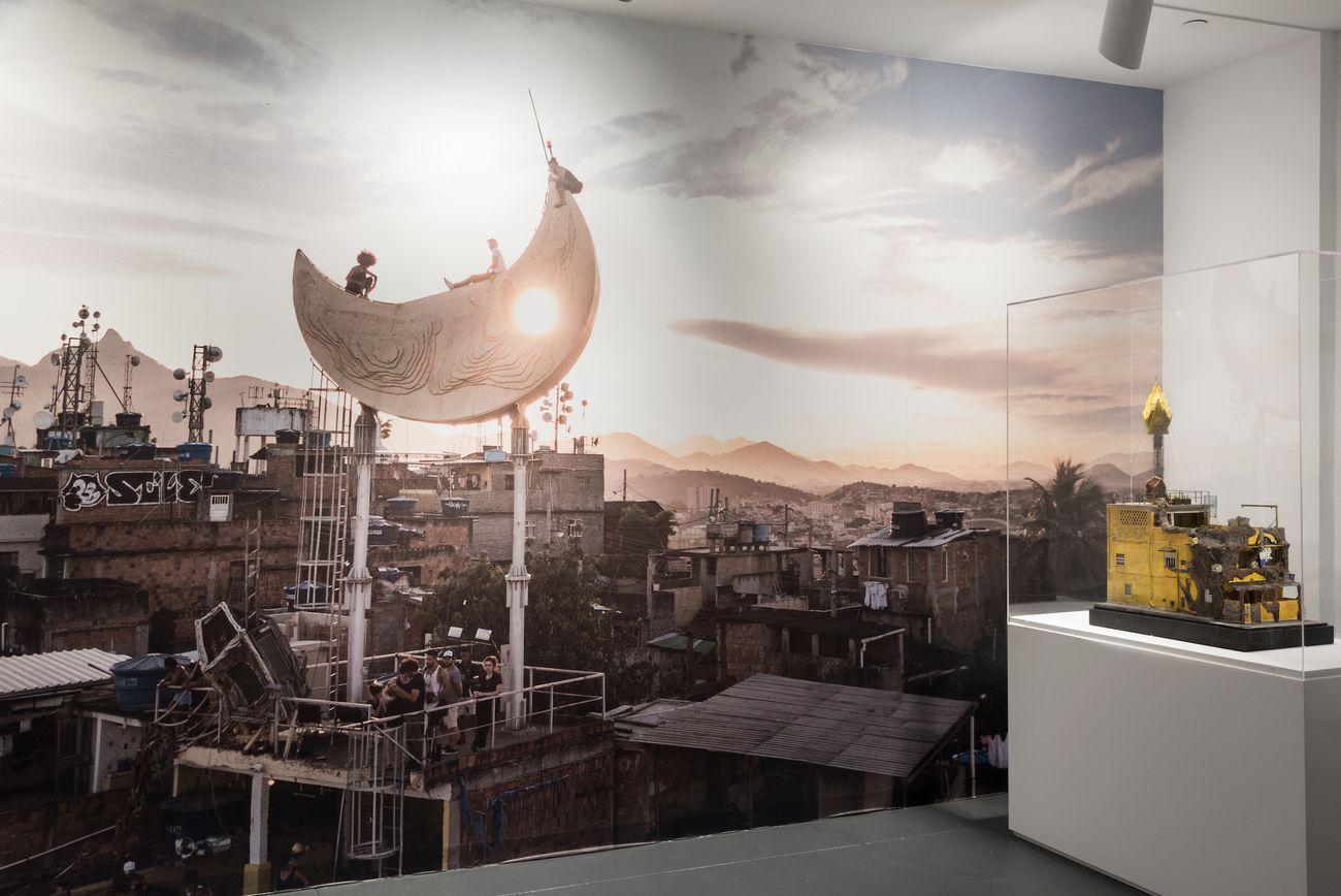 JR. Chronicles Exhibition view at Brooklyn Museum, New York City 2019. Image courtesy Brooklyn Museum, photo Jonathan Dorado